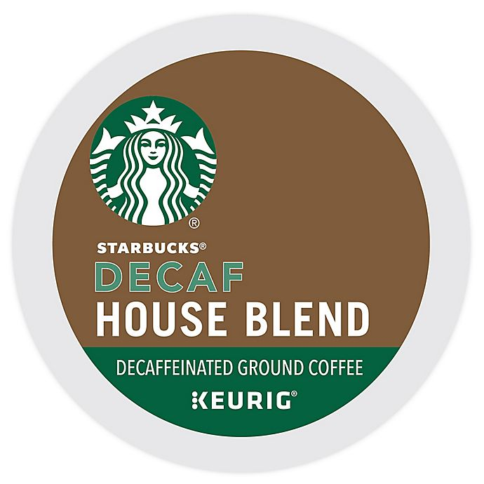 Alternate image 1 for Starbucks® House Blend Decaf Coffee Keurig® K-Cup® Pods 16-Count