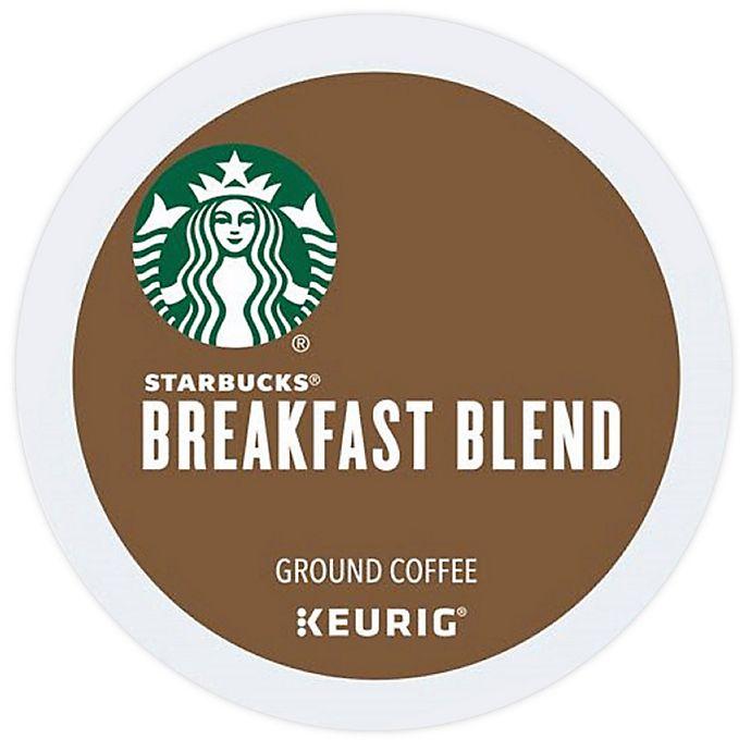 Alternate image 1 for Starbucks® Breakfast Blend Medium Roast Coffee Keurig® K-Cup® Pods 16-Count