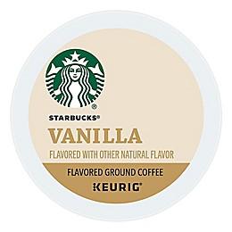 Starbucks® Vanilla Flavored Coffee Keurig® K-Cup® Pods 16-Count