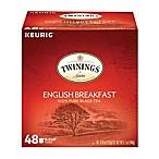 Keurig® K-Cup® Pack 48-Count Twinings of London® English Breakfast Tea Value Pack