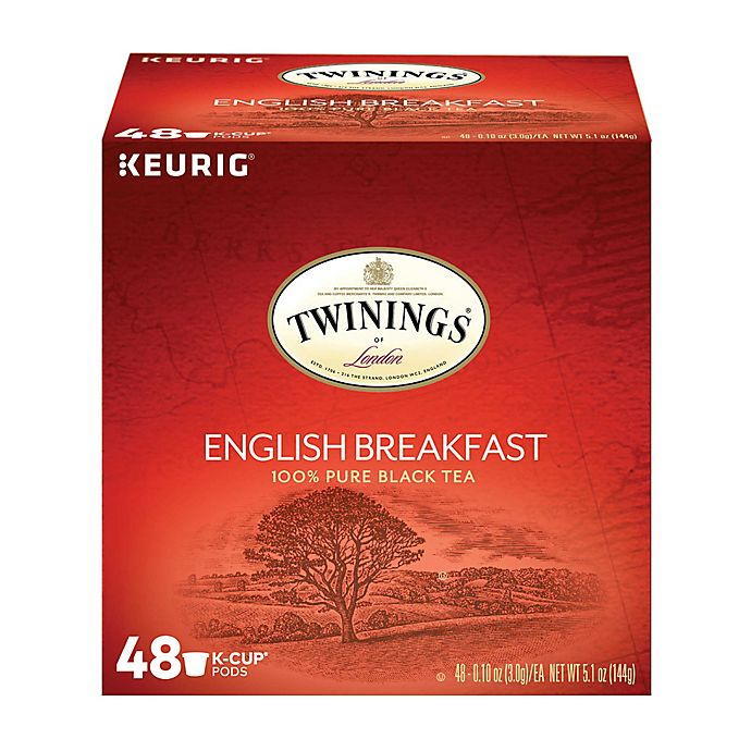 Alternate image 1 for Twinings of London® English Breakfast Tea Value Pack Keurig® K-Cup® Pods 48-Count