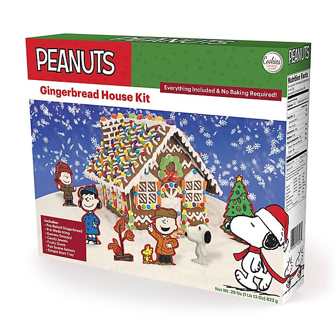 Cookies United Peanuts Gingerbread House Kit Bed Bath Beyond