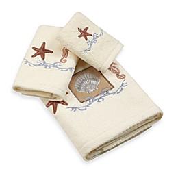 Ocean Shell Bath Towel Collection