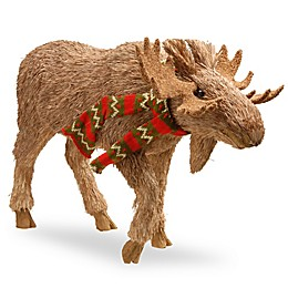 National Tree Company 13-Inch Strolling Moose Holiday Decoration