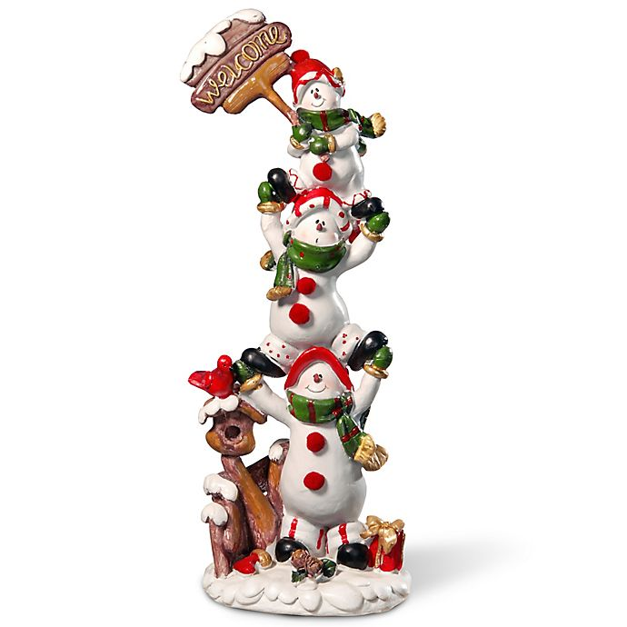 Alternate image 1 for National Tree Company 12-Inch Snowmen Holiday Decoration