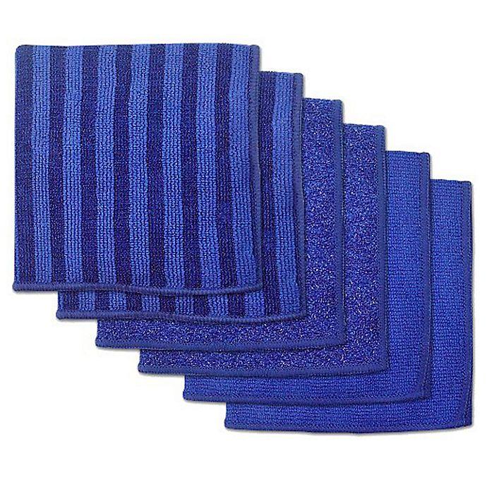 Microfiber Towels Bed Bath And Beyond: Design Imports 6-Pack Scrub Scour Polish Microfiber Dish