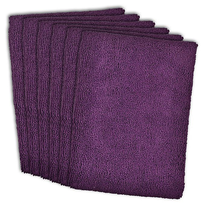 Microfiber Towels Bed Bath And Beyond: Buy Design Imports 6-Pack Microfiber Kitchen Towels In