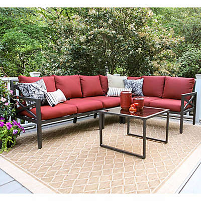 Leisure Made Blakely 5-Piece Sectional Patio Furniture Set