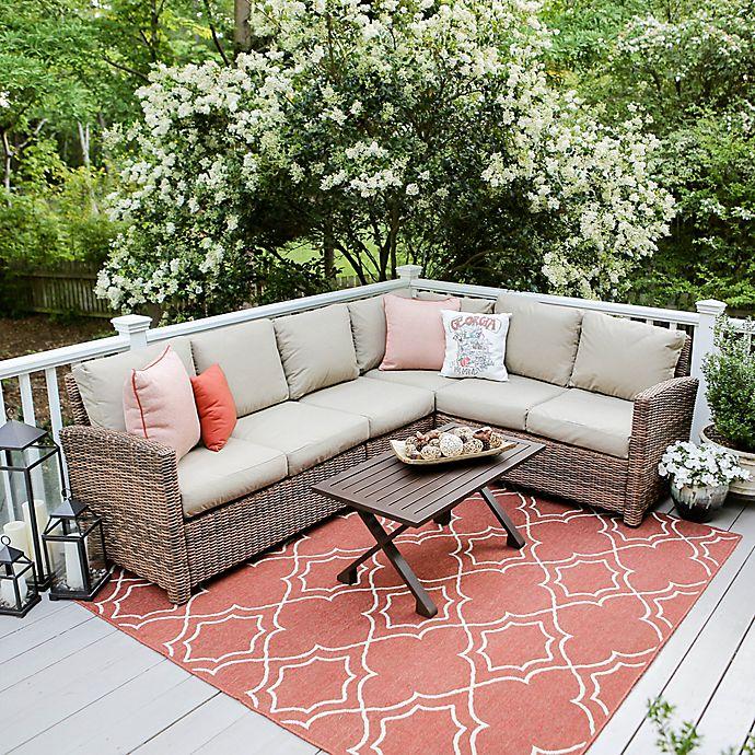 Alternate image 1 for Leisure Made Dalton 5-Piece Sectional Patio Furniture Set