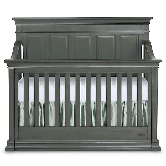 Alternate image 1 for evolur™ Napoli 5-in-1 Convertible Crib in Distressed Slate
