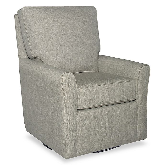 Alternate image 1 for Bassettbaby® Premier Jordan Swivel Glider in Fog Grey