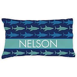 Sharks Pillowcase in Blue