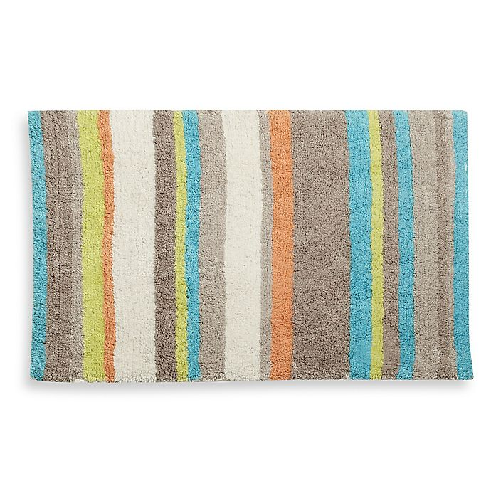 Tommy Bahama Relax Stripe 20 X 30 Bath Rug Bed Beyond