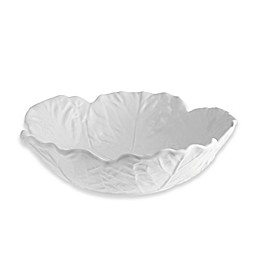 Bordallo Pinheiro  Cabbage 12-Inch Bowl in Beige