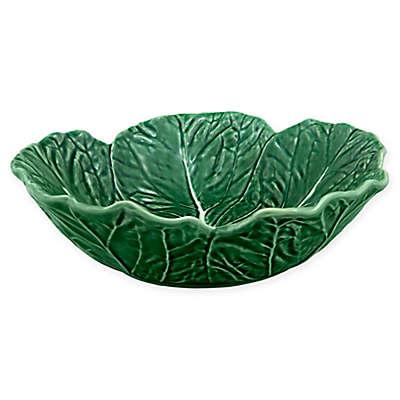 Bordallo Pinheiro Cabbage 12-Inch Bowl in Green