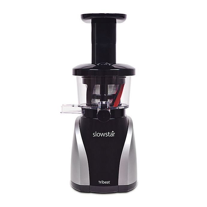 Alternate image 1 for Tribest® Slowstar® Vertical Slow Juicer and Mincer in Black/Silver