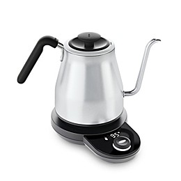 OXO Brew Adjustable Temperature Electric Gooseneck Stainless Steel Kettle