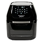 6-Quart Power Air Fryer Oven in Black