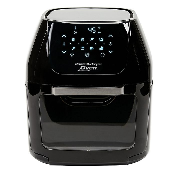 6 Quart Power Air Fryer Oven In Black Bed Bath Beyond