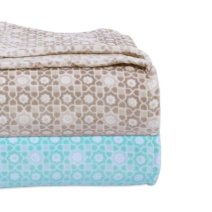 Alternate image 1 for Berkshire Blanket® VelvetLoft® Mosaic Blanket