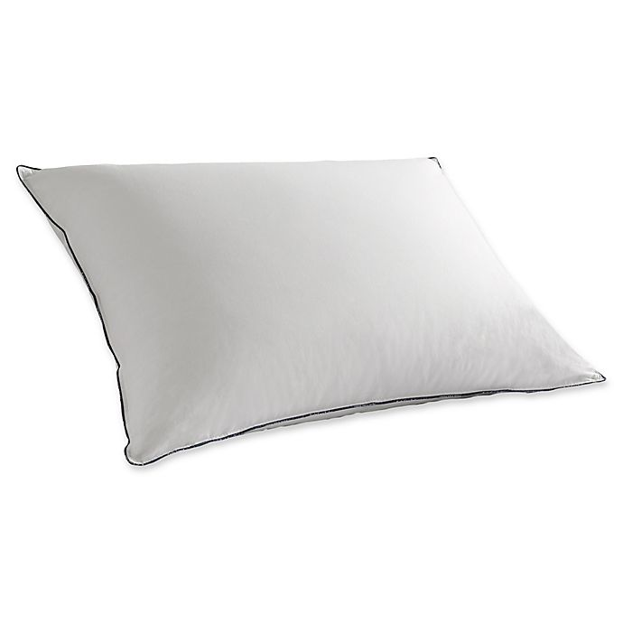 buy pacific coast down embrace standard pillow in white from bed bath beyond. Black Bedroom Furniture Sets. Home Design Ideas