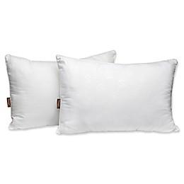 Panama Jack Luxury 2-Pack Embossed Microfiber Pillows in White