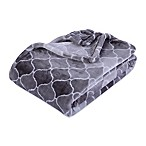 Berkshire Blanket® VelvetLoft® Throw Blanket in Ombre Grey