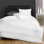 Canada's Best Textured Embossed Microfiber 4 oz. Full/Queen Comforter in White