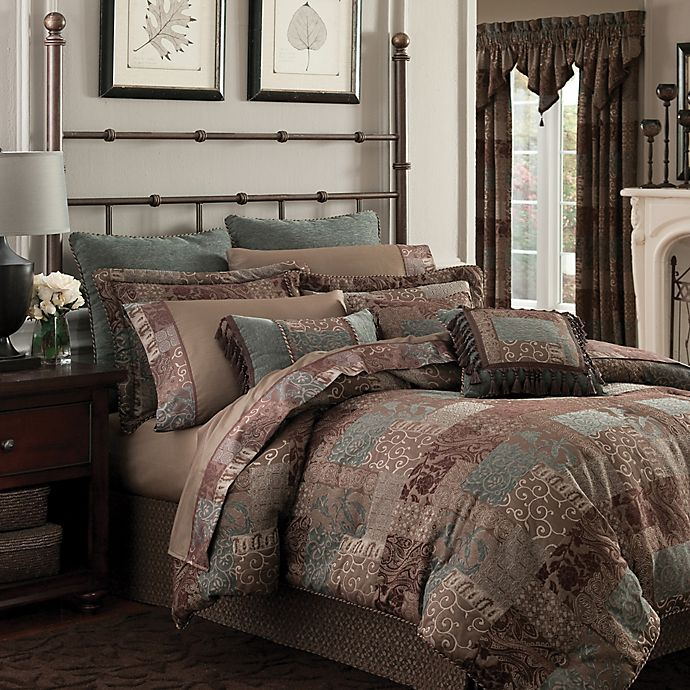 Alternate image 1 for Croscill® Galleria California King Comforter Set in Chocolate
