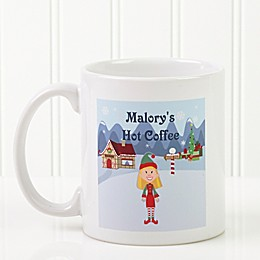 Family Character 11 oz. Coffee Mug in White