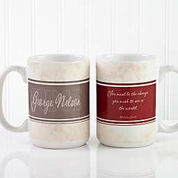 Inspiring Lawyer 15 oz. Coffee Mug in White