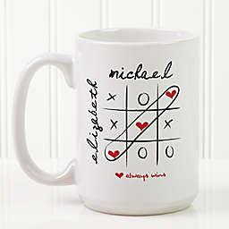Love Always Wins 15 oz. Coffee Mug in White