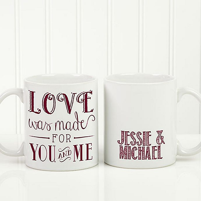 Alternate image 1 for Love Quotes Romantic Coffee Mug