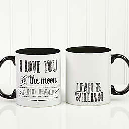Love Quotes Romantic 11 oz. Coffee Mug in White/ Black