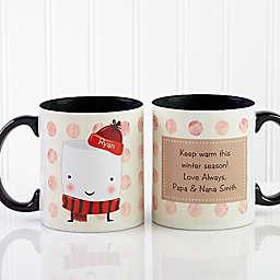 Marshmallow 11 oz. Coffee Mug in Black