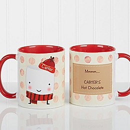 Marshmallow 11 oz. Coffee Mug in Red