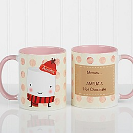 Marshmallow 11 oz. Coffee Mug in Pink