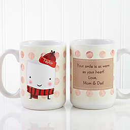 Marshmallow 15 oz. Coffee Mug in White