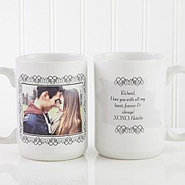 My Words To You 15 oz. Coffee Mug in White