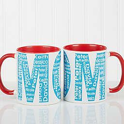Repeating Name For Her Coffee Mug