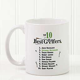 Top 10 Golfers Coffee Mug