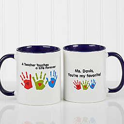 Touches A Life Teacher Coffee Mug