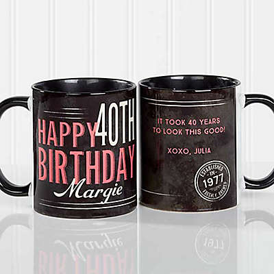Vintage Birthday Coffee Mug