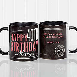 Vintage Birthday Coffee Mug