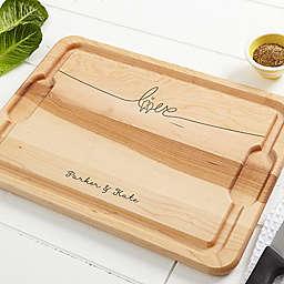 Lovebirds 12-Inch x 17-Inch Maple Cutting Board