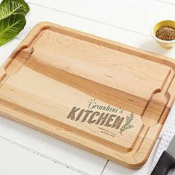 Her Kitchen 12-Inch x 17-Inch Maple Cutting Board