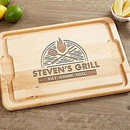 The Grill 12-Inch x 17-Inch Maple Cutting Board