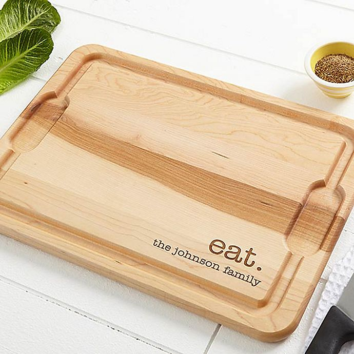 Alternate image 1 for Kitchen Expressions 12-Inch x 17-Inch Maple Cutting Board