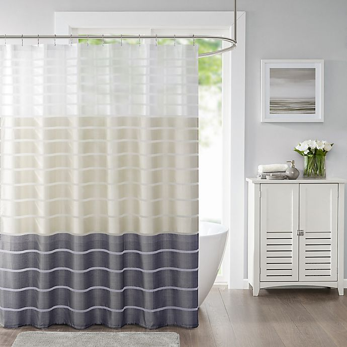 Alternate image 1 for Demi Shower Curtain in Blush