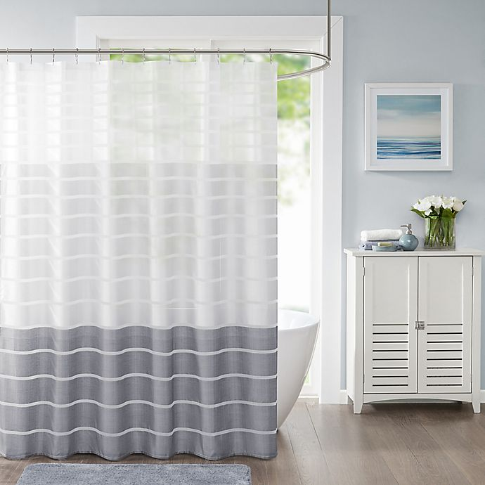 Alternate image 1 for Demi Shower Curtain in Blush